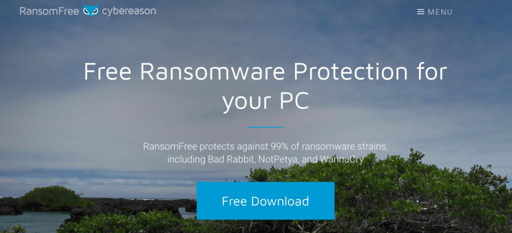CyberReason Ransom Free