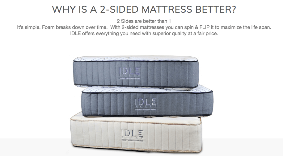 2-SIDED MATTRESS
