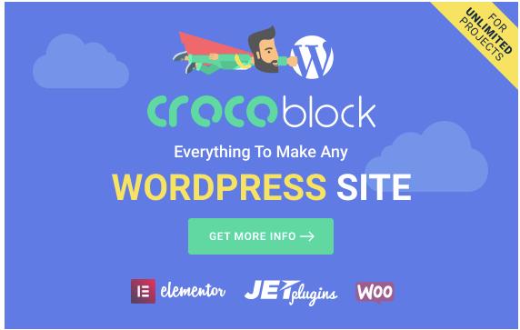 Crocoblock WordPress Page Builder